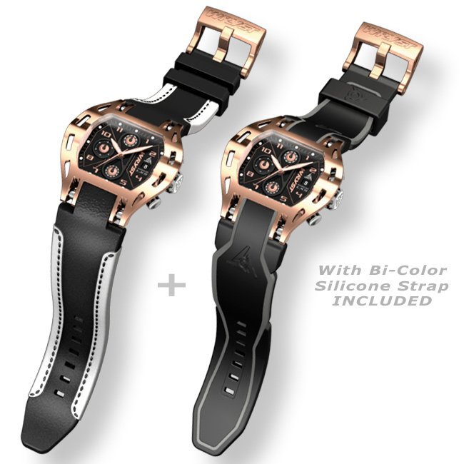 Montre de Sport en Or Rose