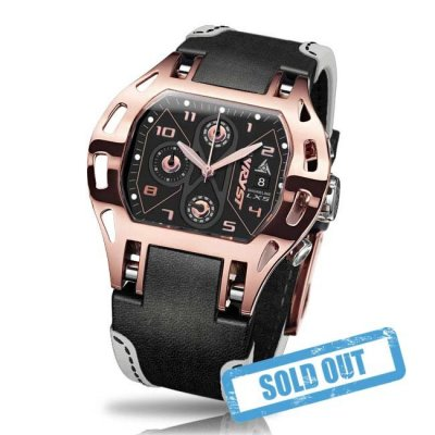 Luxury Rose Gold Sport Watch Swiss Made