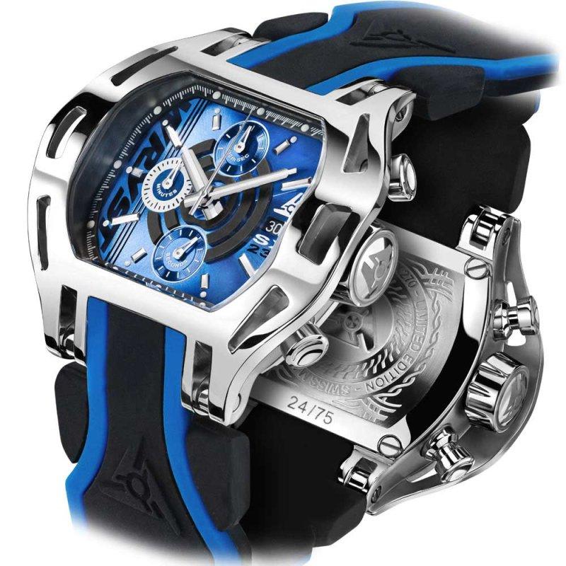Relojes Suizos Esfera Azul