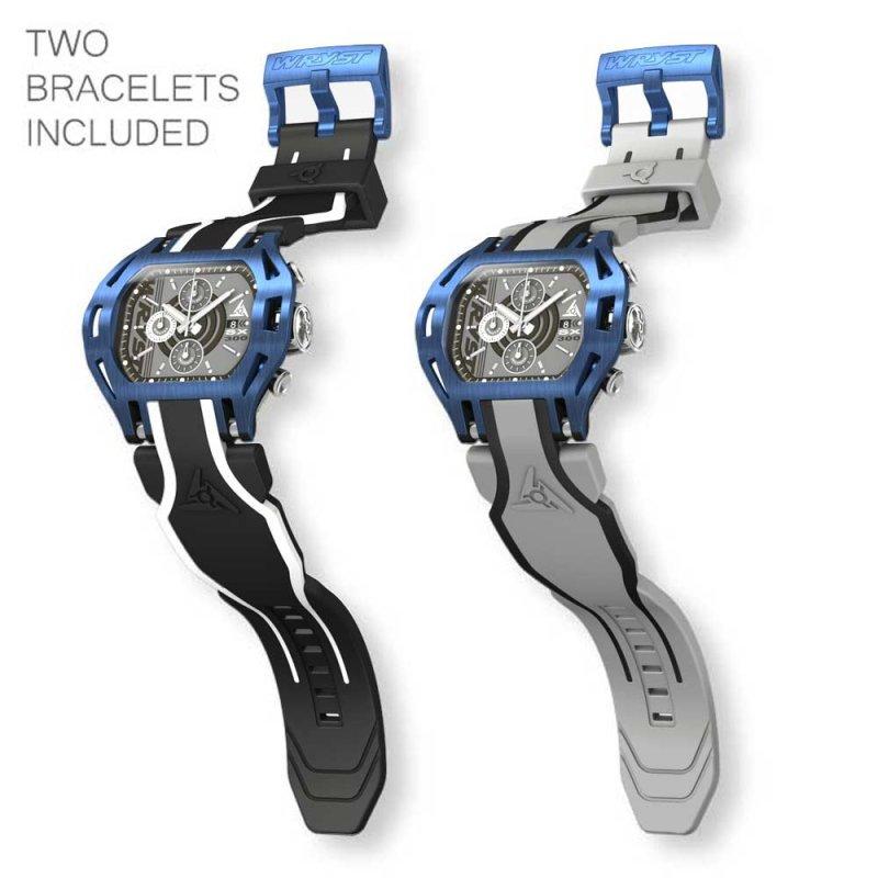Reloj Deportivo Azul Suizo