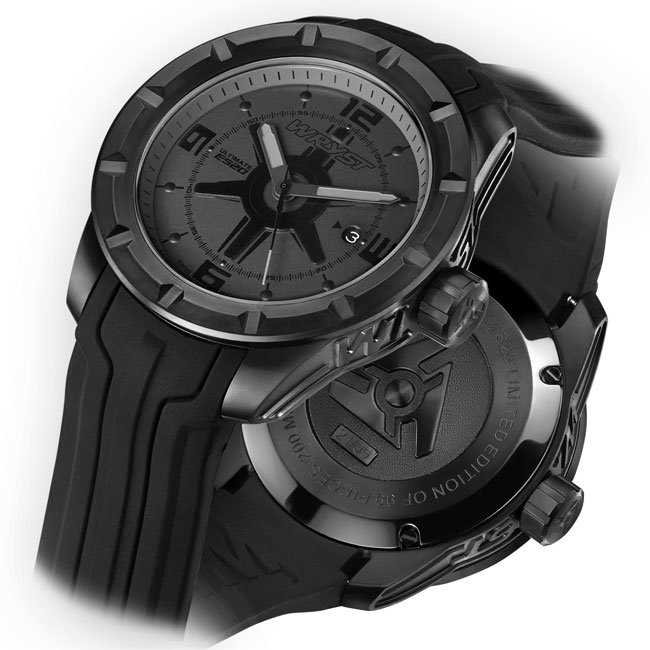 Wryst mens black sport watches