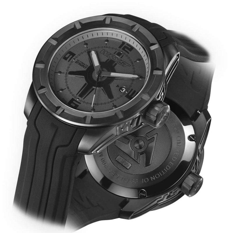 Reloj Negro Deporte Wryst