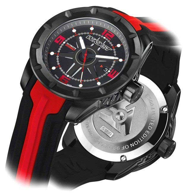 Sapphire Crystal Black Swiss Watch