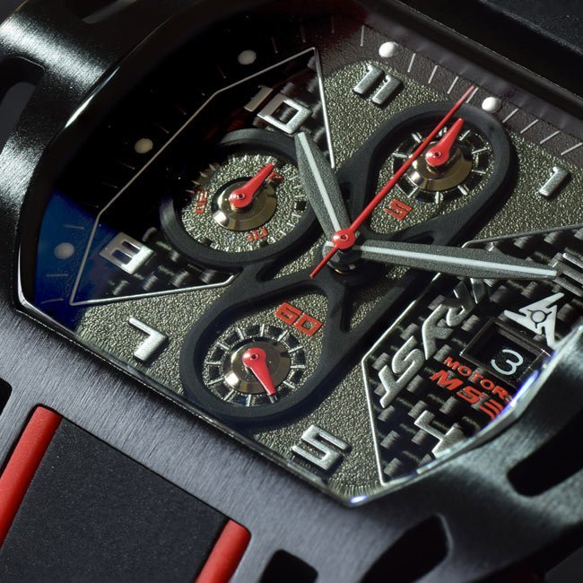 Wryst Motors MS3 Swiss Watch
