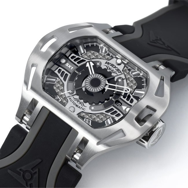 Racer SX1 Mens Steel winding watch