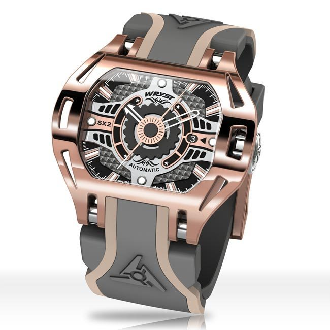 Automatic Rose Gold Wryst Watch