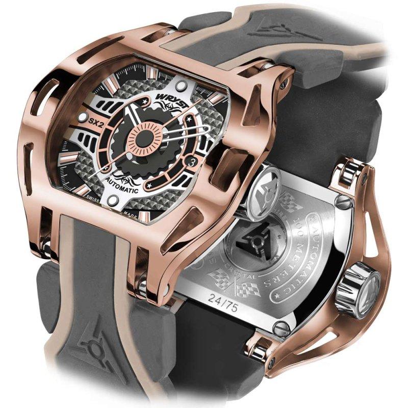 Reloj Oro Rosa Automático