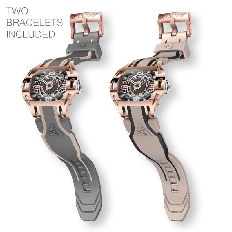 Roségold Uhr Automatische Wryst
