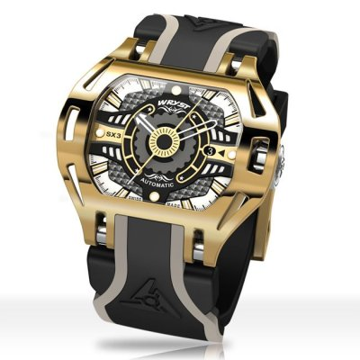Gold Automatic Watch SX3