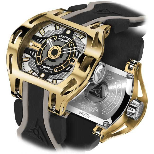 Luxury Gold Automatic Watch SX3