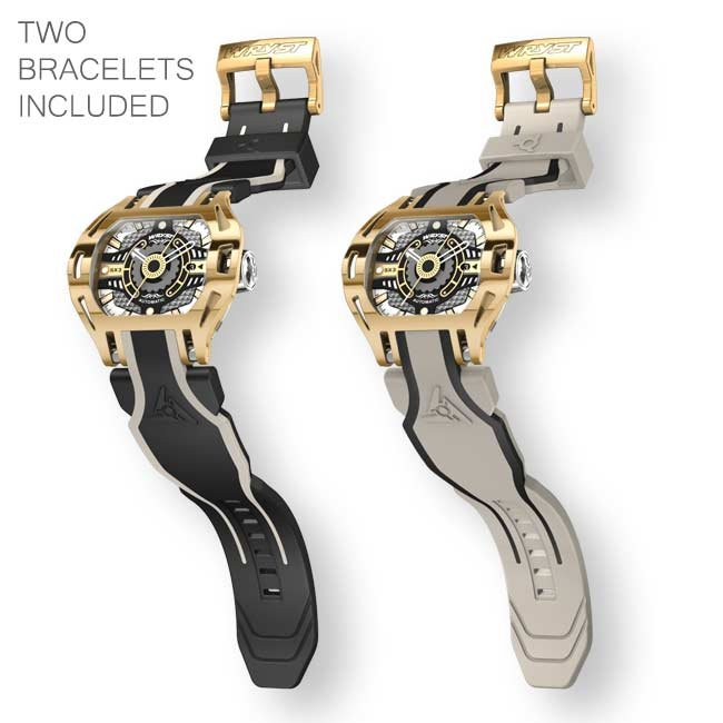 Luxury Automatic Watch Yellow Gold