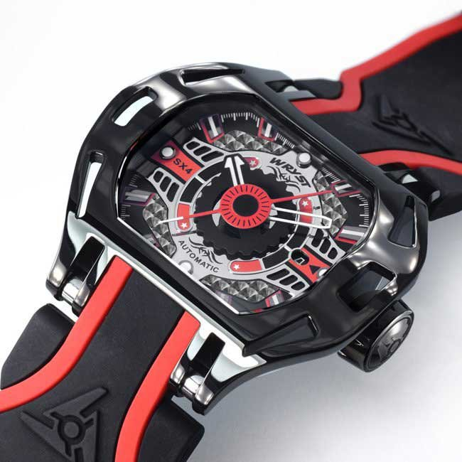 Automatic racing inspired watches