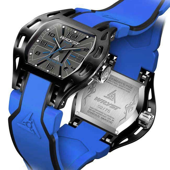 Blue Swiss Watch for Sport