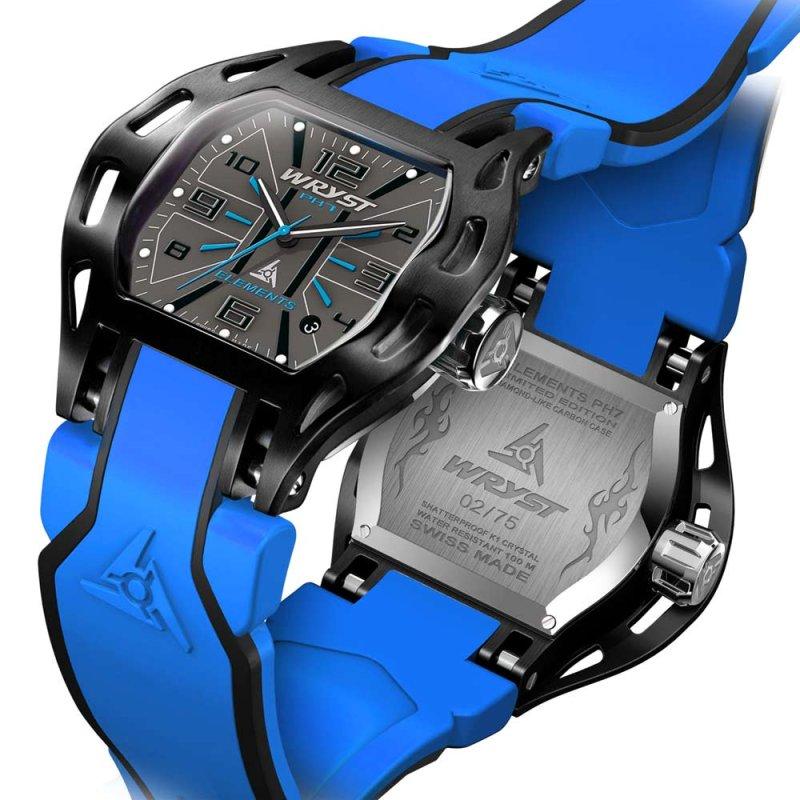 Reloj Suizo Deportivo Azul