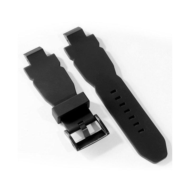 Pulsera Negra Reloj