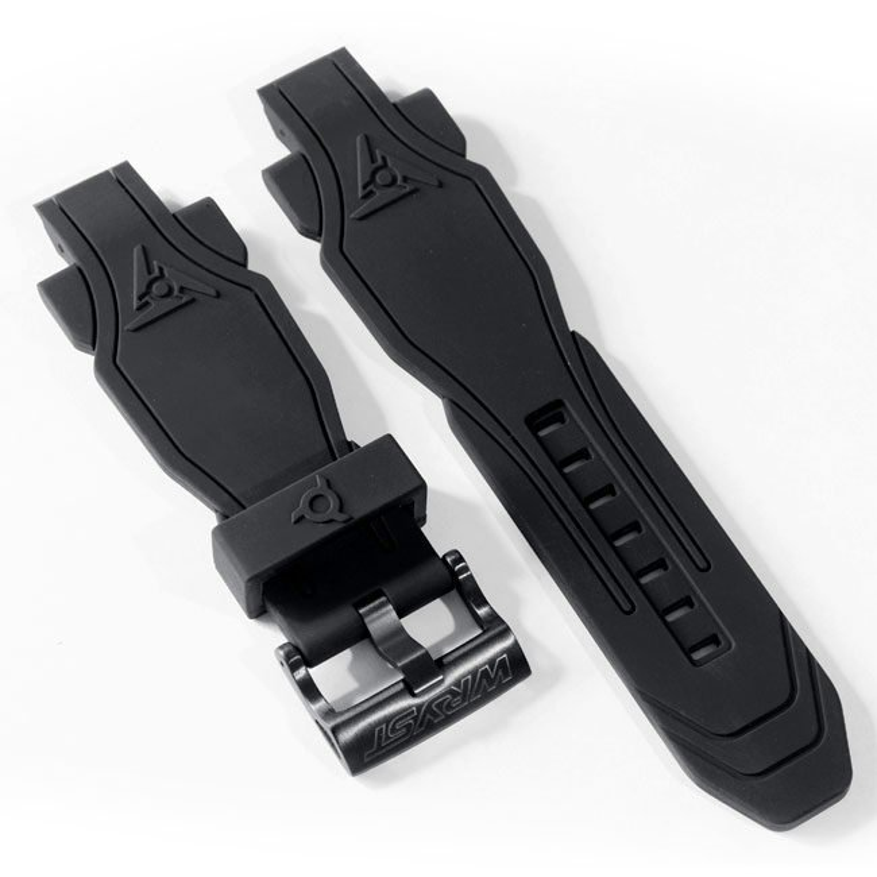 Schwarzes Armband Sportuhr Wryst