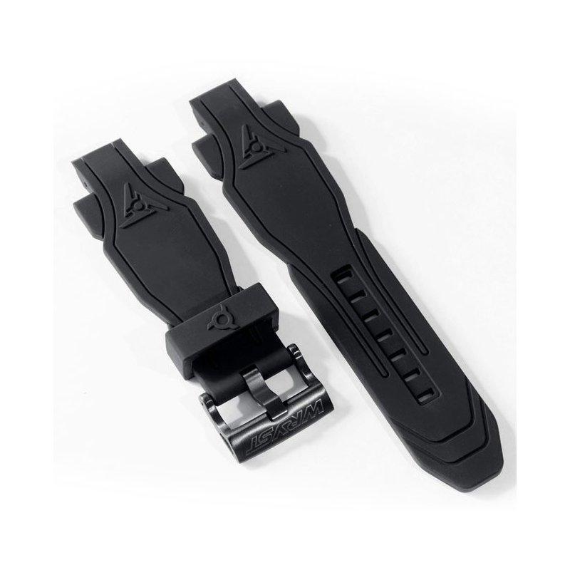 Automatikuhr Schwarzes Armband Wryst