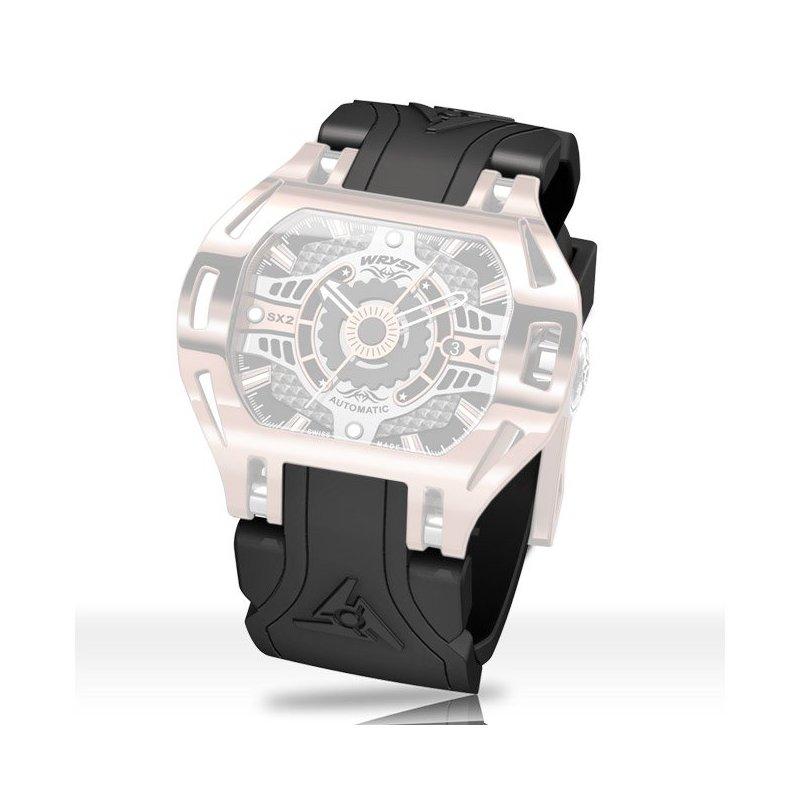black automatic watch