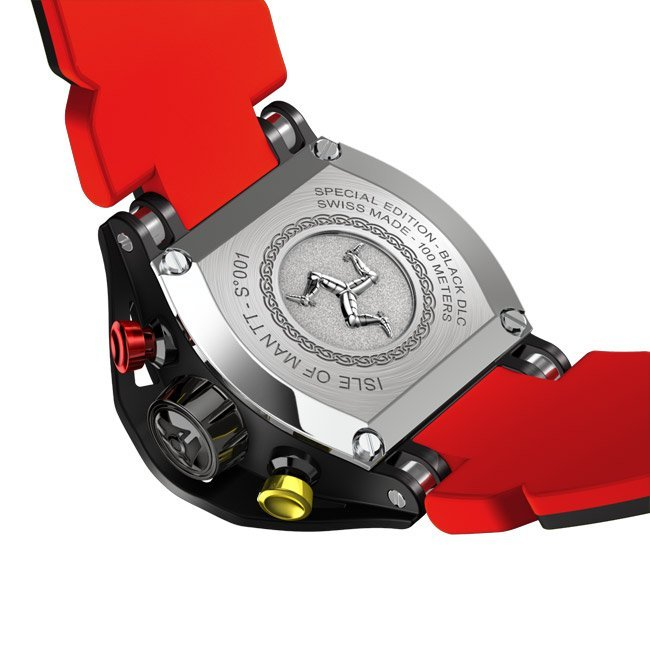 Red Racing Watch Swiss Made
