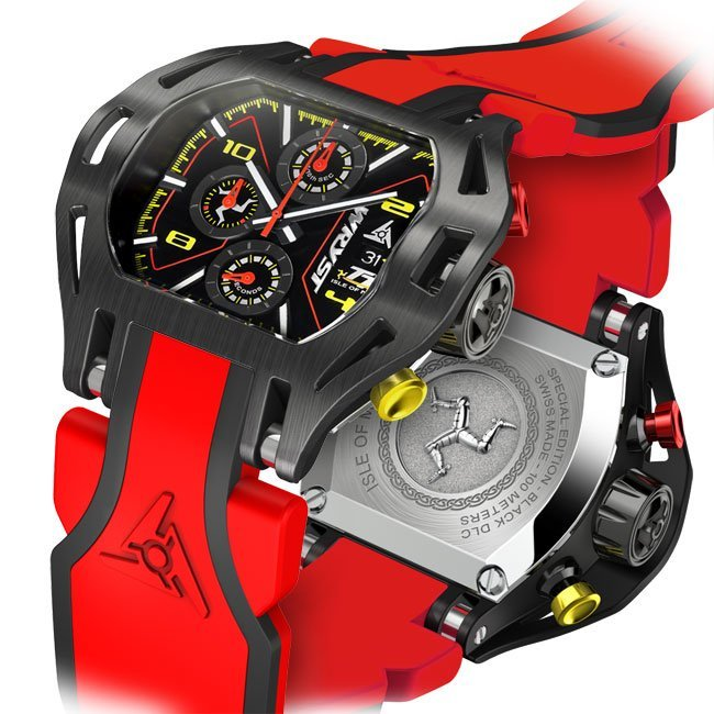 Montre Homme Rouge Wryst