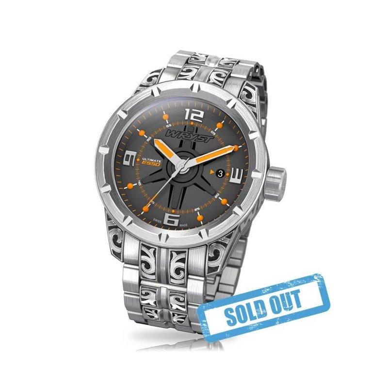 Hand Gravierte Uhr