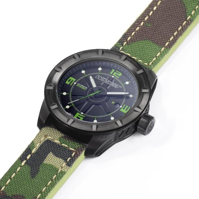 Military Camouflage Watch Black DLC