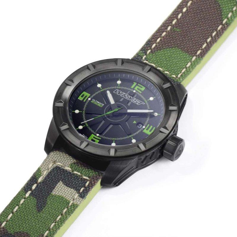Montre camouflage militaire DLC noir
