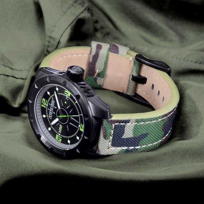 Montre camouflage Swiss Made