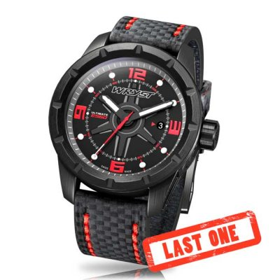 Black Carbon Fiber Watch