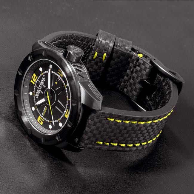 Mens Black Limited Edition Watch