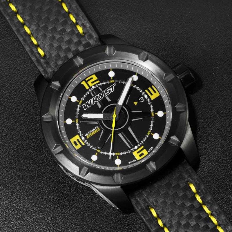 Reloj de edición limitada para hombre negro