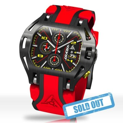 Red Racing Watch