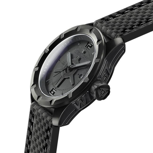 Best blacked out DLC coating watch for extreme sports