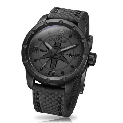 Scratch Resistant Black Watch