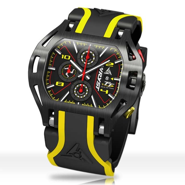 Best 2019 racing sports watches Top Gear magazine with Wryst TT watch