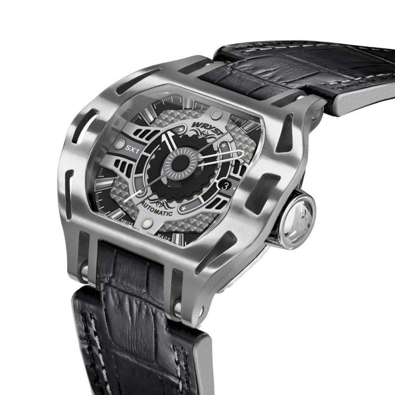 Wryst Montre Sport Automatique Bracelet Alligator