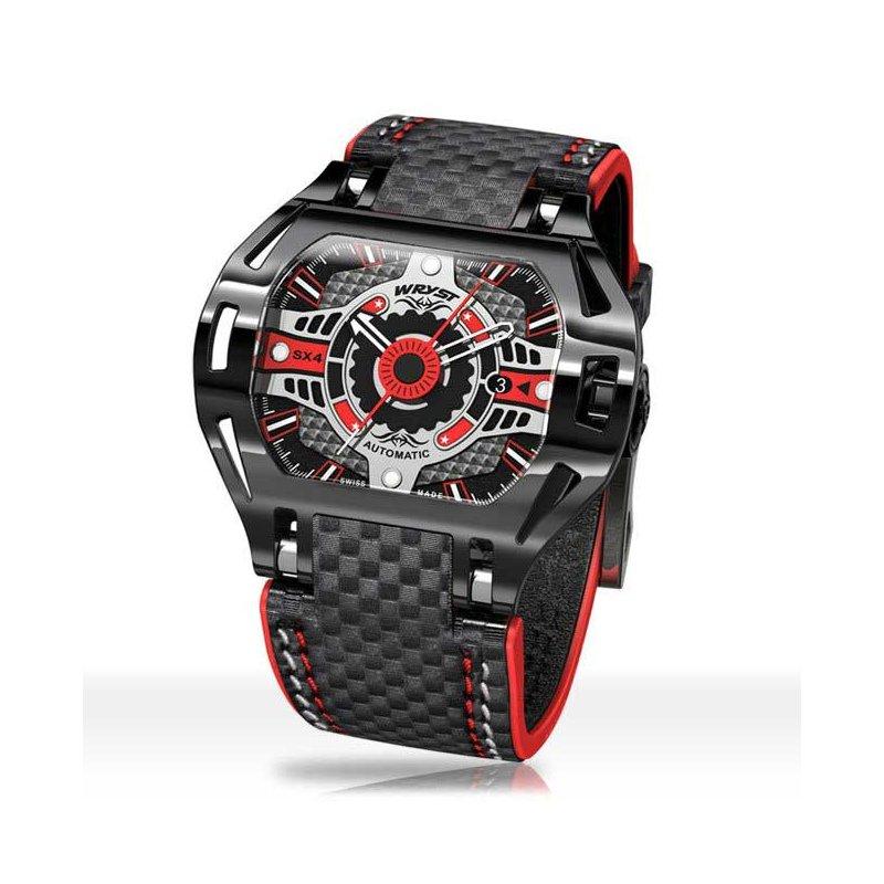 Reloj Automático Deportivo Negro SX4