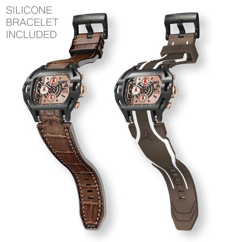 Reloj deportivo negro para hombre Force SX270 Swiss Made