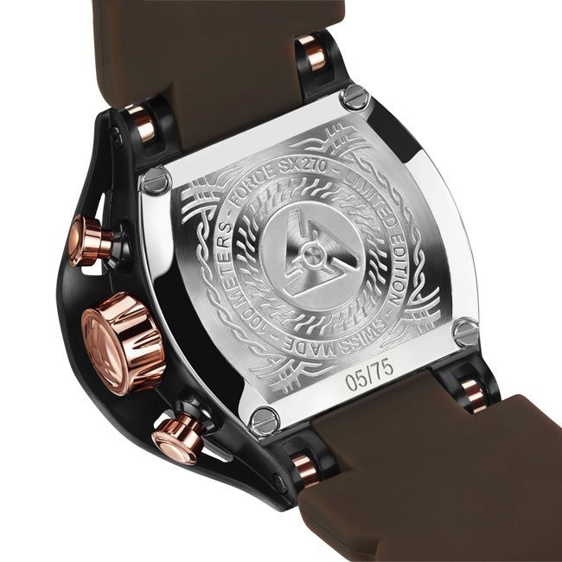 Reloj negro de edición limitada para hombres