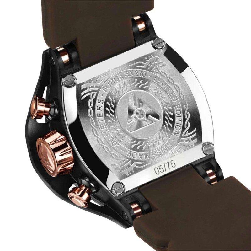 Limited Edition Designer Black Watch für Herren