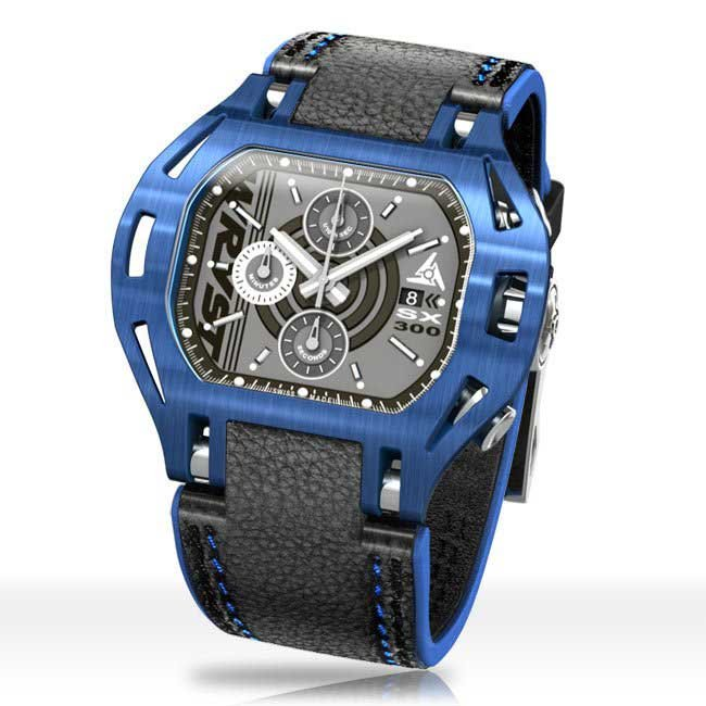 Mens Blue Watches Wryst Force SX300