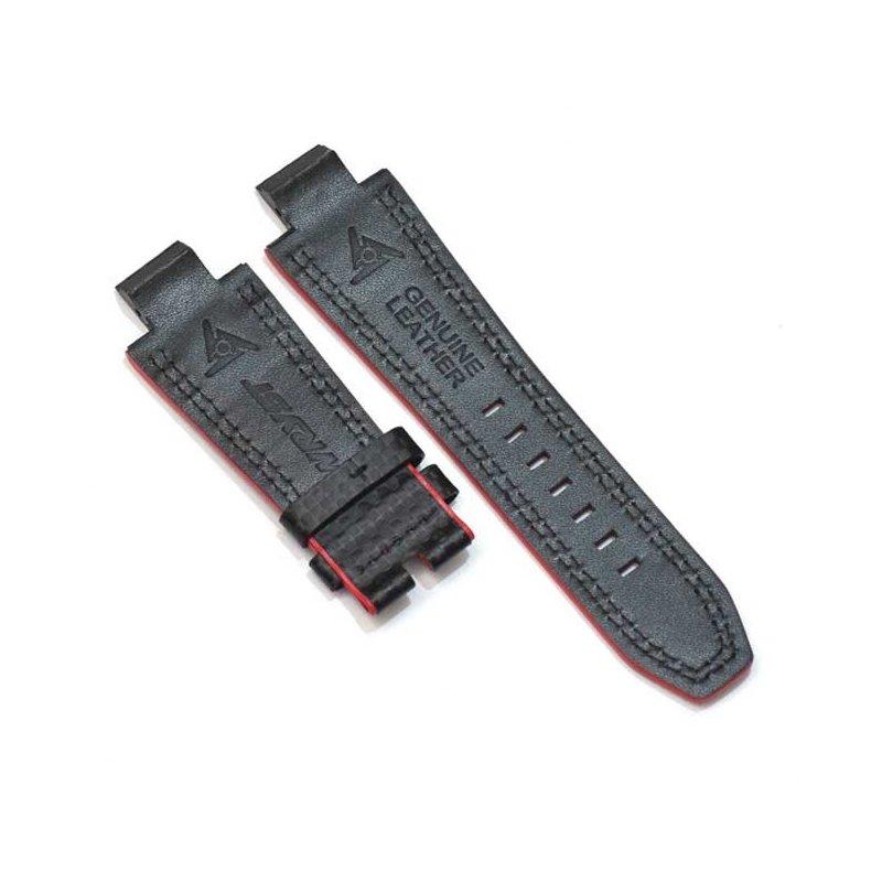Bracelet Noir Fibre de Carbone Montres Wryst