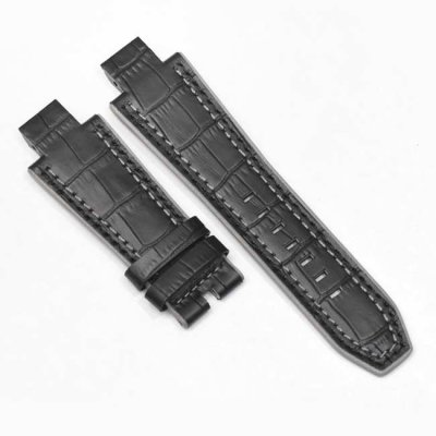 Black Alligator Leather Bracelet NX5