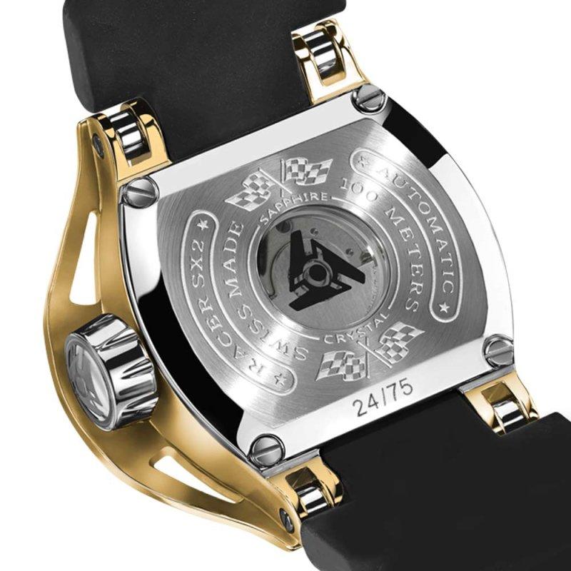 Edición Limitada Gold Wryst Reloj Automático Cristal de Zafiro
