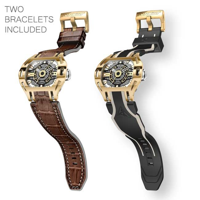 Automatic Gold Watch Swiss Made