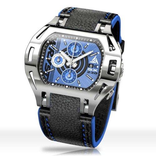 Uhr blauem zifferblatt Wryst SX230