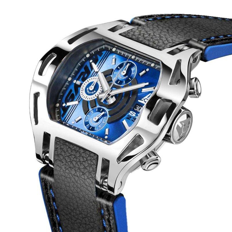 Montre Wryst Force SX230 cadran bleu pour homme
