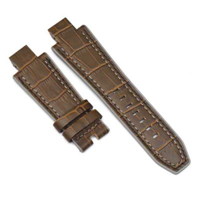 Brown Alligator Watch Bracelet