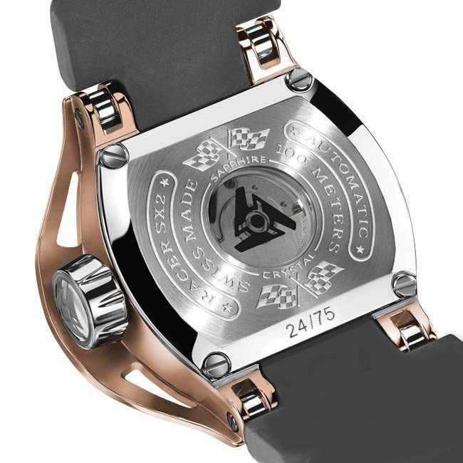 Limited Edition Luxury Wryst Rose Gold Automatic Swiss Watch