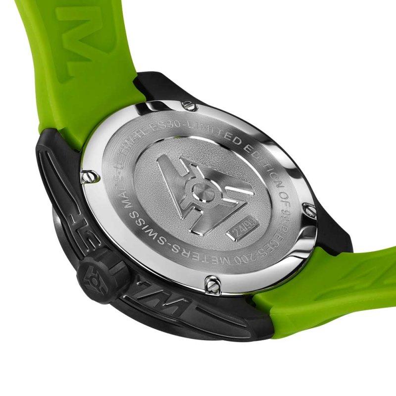 edición limitada reloj deportivo verde